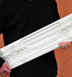 Corbel and Festoon Plaster Cornice